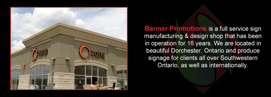 Sign Contractor in Dorchester - Banner 1